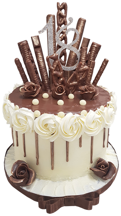 Enjoyable 18Th Birthday Chocolate Cake Me Shell Cakes Personalised Birthday Cards Rectzonderlifede