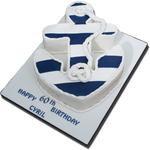 Super Anchor Birthday Cake Me Shell Cakes Funny Birthday Cards Online Alyptdamsfinfo